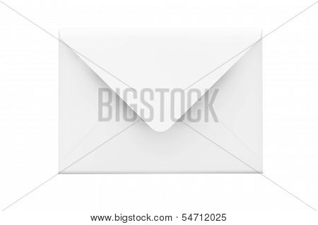 Email Concept. Detailed Envelope