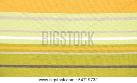 Horizontal striped fabric. Textile.
