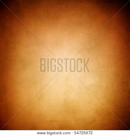 Abstract Gold Background Warm Yellow Color Tone