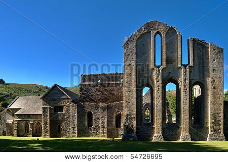 Valle Crucis Abbey at Llantysilio