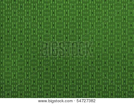 Fabric Green  Textured Background