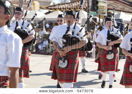 Doo Dah Parade Bag Pipers