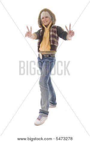 Positive Jeans Blonde