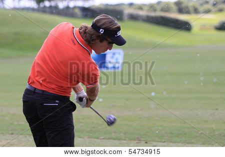 Romain Wattel at the Golf French Open 2013