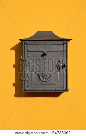 European Yellow Letterbox