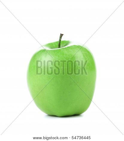 Granny Smith variety of apple.