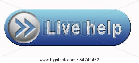 live help online help or support desk call center customer service button or icon