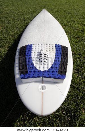 White Surfboard