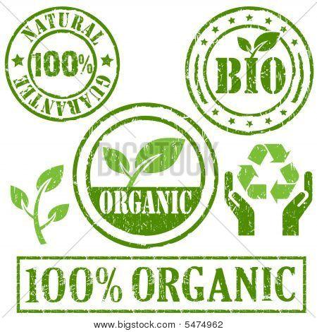 Organic And Natural Symbol