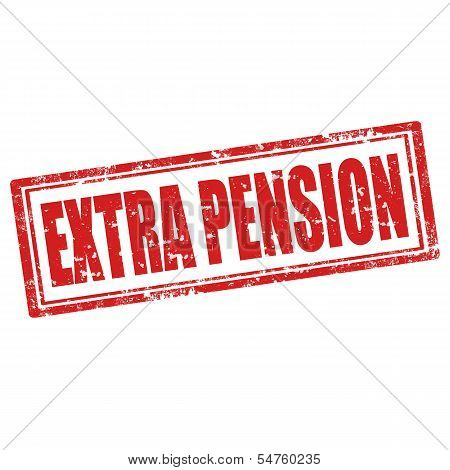 Extra Pension-stamp
