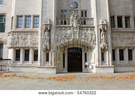 Building Of Judicial Committee Of The Privy Council In London, United Kingdom