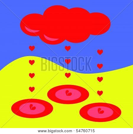 hearts rain