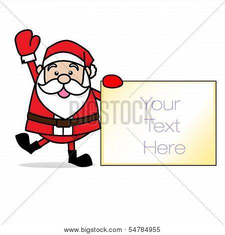 Santa Claus Merry Chrimas Clip Art