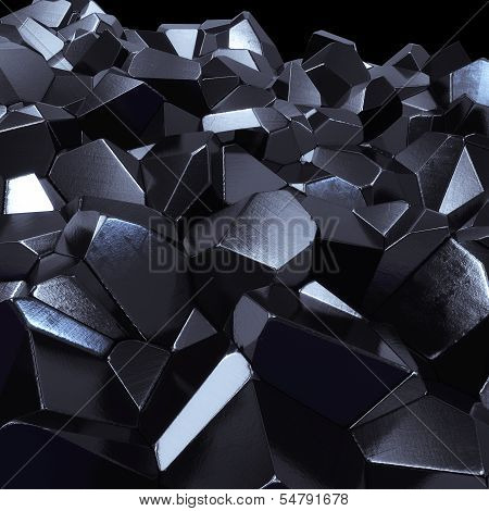 abstract crystals