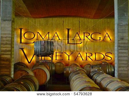 Loma Larga vineyards cellar in Casablanca, Chile