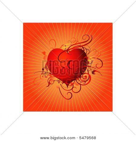 Heart background