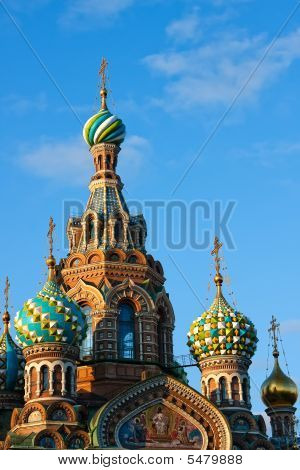 The Church of the Savior on Spilled Blood St. Petersburg Russia