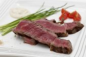 foto of wagyu  - Grilled wagyu rump steak - JPG
