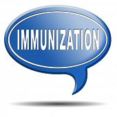 immunization or flu vaccination needle