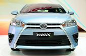 Bkk - Nov 28: New Toyota Yaris On Display At Thailand International Motor Expo 2013 On Nov 28, 2013