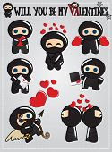 picture of ninja  - Valentine - JPG