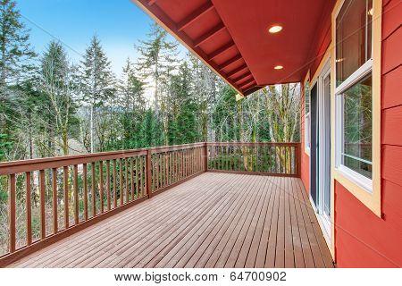 Walkout Deck View