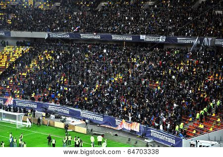 Soccer Hooligans Of Steaua Bucharest