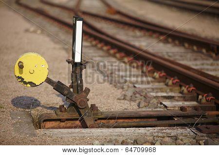 Railway Switch - Symbolizes A Decision