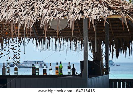 Detail Of Beach Bar In Thailand