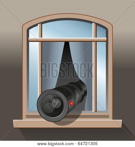 Surveillance Agent Camera