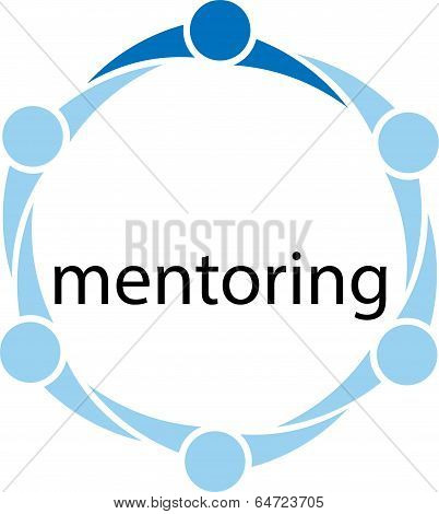 Mentoring Concept Illustration