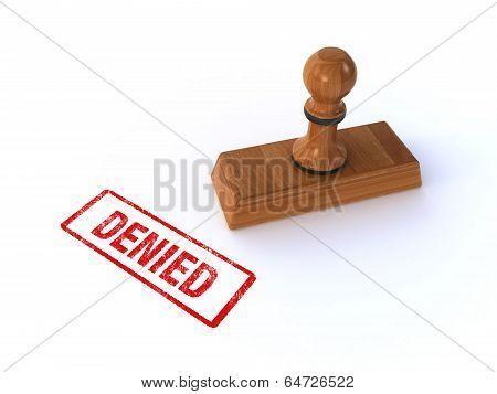 stamp denied