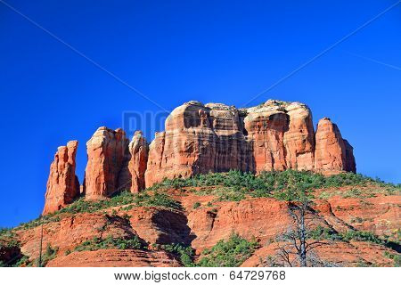 The Castle Rock in Sedona Arizona