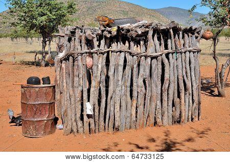 Ovahimba Storage Room
