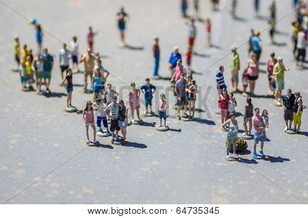 Miniature Tourists