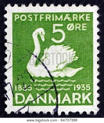 Postage Stamp Denmark 1935 The Ugly Duckling, Fairy Tale