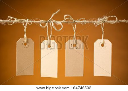 Four Retail Price Labels