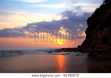 Sunrise At Macmasters Beach Nsw Australia