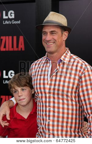 LOS ANGELES - MAY 8:  Christopher Meloni at the