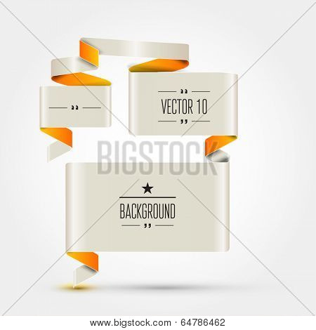 Template stickers, labels, tags for business artwork and infographics .
