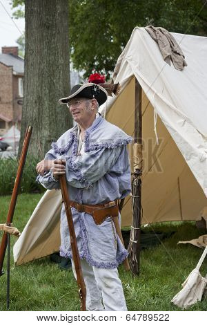 War of 1812 Commemoration in Warrenton, Virginia.