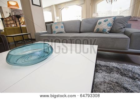 Living Room Area In Show Home