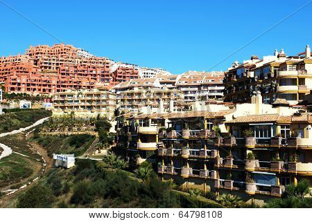 Apartment blocks, Calahonda, Spain.