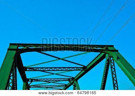 construction of green metal steel