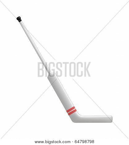 Hockey stick for goalie