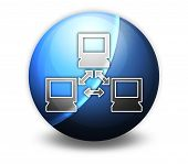 image of vpn  - Image Illustration Image Icon Button Pictogram with Network symbol - JPG