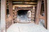 stock photo of blast-furnace  - Detail from Klenshyttan and surrounding area - JPG