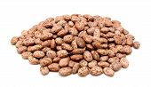 picture of pinto  - Pinto beans isolated on a white background - JPG