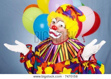 Sad Clown Gives Up