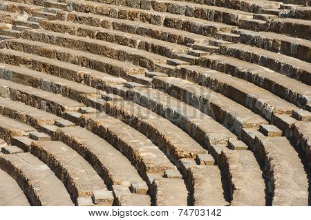 Ancient Roman Amphitheater in Ephesus, Turkey